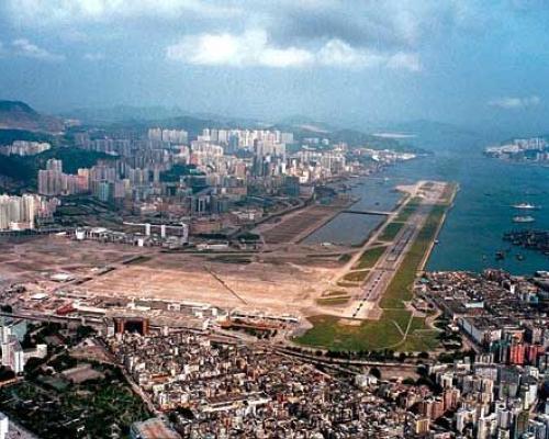 Voormalige luchthaven Kai Tak, Hong Kong: verkenning ondergrond